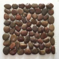 Buy cheap SMC-PT106 Red Polished pebble mats from wholesalers