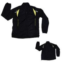 Cheap Black Polyester Sports Sporty Sport Jacket For Men for sale