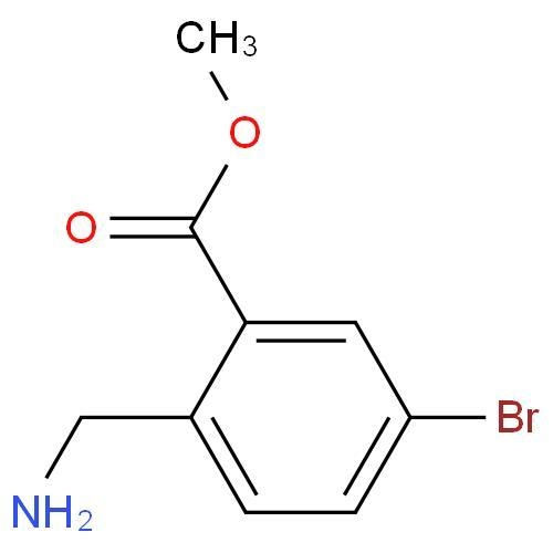 Quality Benzoic acid, 2-(aMinoMethyl)-5-broMo-, Methyl ester wholesale