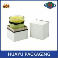 Luxury Elegant Round Cardboard Candle Box Wholesale Manufactures