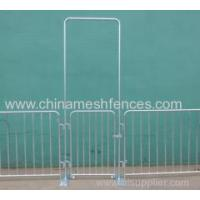 Buy cheap Flatbase Portable Steel Pedestrian Barricades from wholesalers