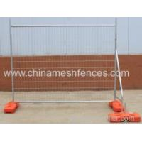 Buy cheap New Zealand galvanized 2100*2400 mm temporary fence panel from wholesalers