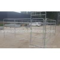 Buy cheap Galvanized 6 Bars Horse Yard Panel from wholesalers