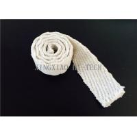Buy cheap Steel Wire Reinforced Insulation Ceramic Fiber Tape Abrasions Resistance from wholesalers