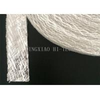 Buy cheap Aluminum Foil Coated Insulation Ceramic Fiber Tape Fireproof Heavy Duty from wholesalers