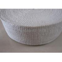 Buy cheap 1260℃ Insulation Ceramic Fiber Tape Heat Insulation High Tensile Strength from wholesalers
