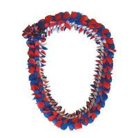 Butterfly Lei - Fancy Butterfly Style (Red,White and Blue) Manufactures