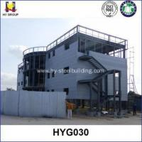 China Prefabricated steel structure hotel buildings on sale
