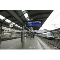 China High quality light steel structure train station canopy Admin Edit on sale