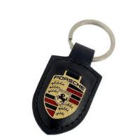 China Golden Porsche Car Company Logo Key Chains Car Keychain Supplier China CK-019 on sale
