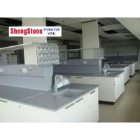Anti corrosion laboratory furniture with epoxy resin worktop Manufactures