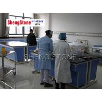 Hospital workbench-All steel structure epoxy resin mesa workbench Manufactures