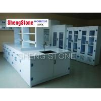Strong acid and alkali resistant laboratory work station,Full PP structure lab furniture Manufactures