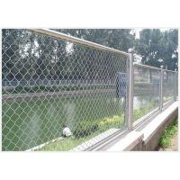 Stainless Steel Wire Chain Link Mesh Fence Also Named Diamond Mesh for Fence Use Manufactures