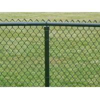 Colorful PVC Coated Chain Link Mesh Fence Also Named Diamond Mesh for Fence Use Manufactures