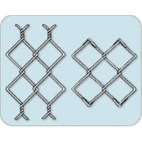Hot Galvanized Steel Wire Weave Knuckled Edge Chain Link Mesh Closed Edge Manufactures