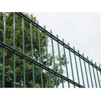 Hot Galvanized PVC Coated Mild Steel Wire Double Wire Fence Manufactures