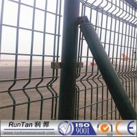 Hot Galvanized PVC Coated Mild Steel Wire Curved Fence Mesh Manufactures