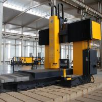 High Precision Gantry Movable Multiple Spindle CNC Wind Power Plate Drilling Machine