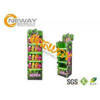 Energy Drinks Free Standing Cardboard Displays / Foldable Display Stand Manufactures