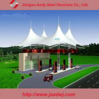 China Membrane structure gas station on sale