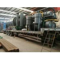 Quick Installation Type Waste Plastic Pyrolysis Disposal To Oil Machine Manufactures