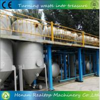 Waste Motor /engine Oil Refining to Diesel Equipment Manufactures