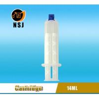 Dental Cartridge 14ml 1:1 Disposable Double Dental Empty Silicone Syringe Manufactures