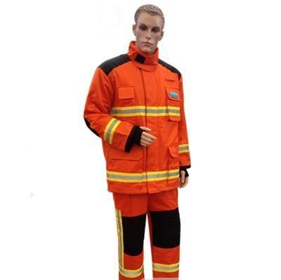 Quality Nomex Fire Resistant Fire Retardant Coveralls Firefighter Fireman Firefighting Suits for sale