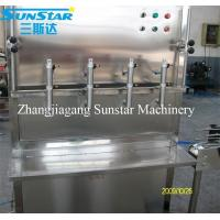 Quality Semi automatic or manual bottling machine for water oil shampoo soy sauce for sale