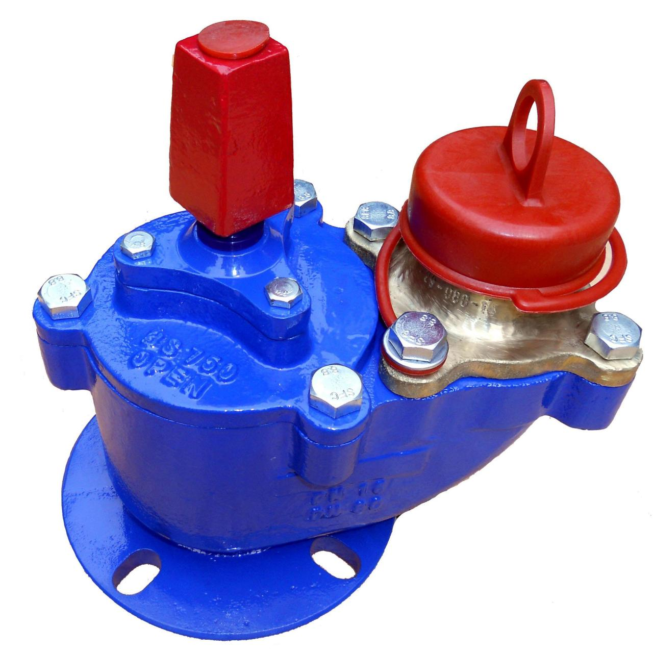 Cast iron Fire Hydrant DN80 PN16 Manufactures