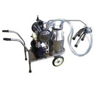 China Trolley Type mobile milking machine on sale