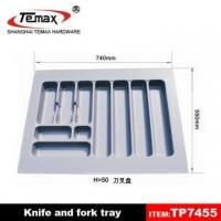 Buy cheap kitchen cabinet plastic knife and fork tray from wholesalers