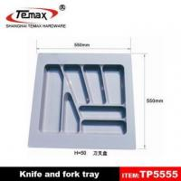 Buy cheap kitchen plastic fork and knife tray from wholesalers