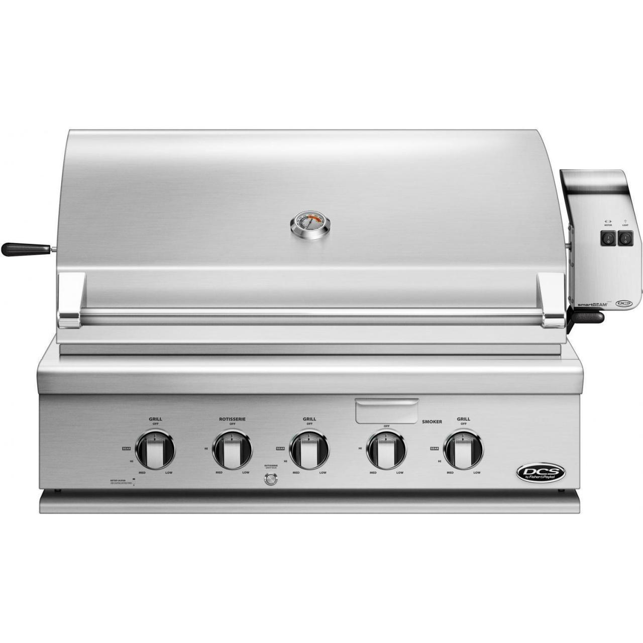 China DCS Professional 36-Inch Built-In Natural Gas Grill With Rotisserie - BH1-36R-N on sale