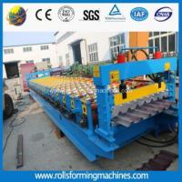 Hydraulic Steel Roof Panel Forming Mahcine With Oil Pumb