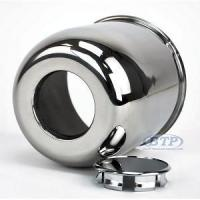 Stainless Steel Center Cap for 15 inch Aluminum Wheels 6 Lug 4.25 Manufactures
