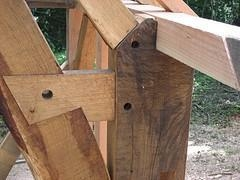 Quality Advanced Timber Framing Course - Powys for sale