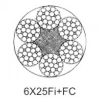 Steel aircraft cable 6X25Fi+FC Manufactures