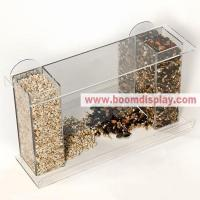 Acrylic Pet Products Wholesale Clear Acrylic Feeder Manufactures
