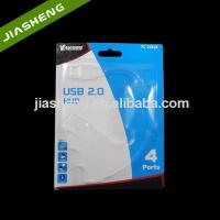 China Dongguan PP Transparent Plastic Slide Blister Packaging For USB Cable With Card Manufactures