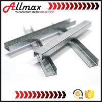 1. 10F chisel point industrial staple is more durable with its thicker stainless Manufactures