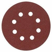 China Abrasives 25 pieces 5 In. 120 Grit PSA Self-Adhesive Sanding Discs on sale