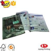 Cheap Magazine Softcover magazine,brochure printing with glossy lamination for sale