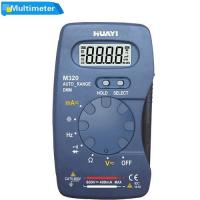China DMM HZ Capacitance Tester Data Hold M320 Pocket Auto range Digital Multimeter on sale