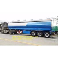 40000L Aluminum Cooking Oil Tanker Trailer Manufactures