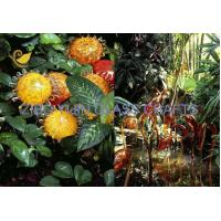 Chihuly Style Hand Made Glass Sculpture For Garden Decoration YJ-15 Manufactures