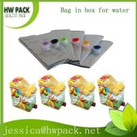 BIB bag with colorful spout Manufactures