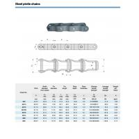 Nickel-plated roller chains steel pintle chains