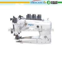 High-speed feed-off the arm three-needle chain stitch machine for lap seaming Manufactures